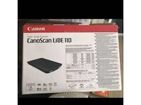 Brand New Canon Cano Scan LiDE 110 Flatbed Scanner