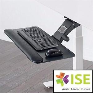 NEW* ISE LEADER 6 KEYBOARD TRAY LEADER 6 ARM W/ TRAY - COMPUTER ACCESSORIES OFFICE ELETRONICS 92278311
