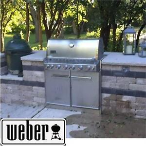 NEW* WEBER SUMMIT S-660 GAS GRILL 6 BURNER - BUILT-IN - NATURAL GAS BBQ - OUTDOOR KITCHENS GRILLS BARBECUE 75101870