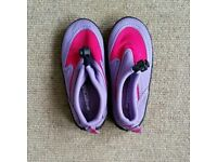 Wet shoes - childrens size 8