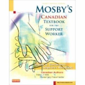 NEW TEXTBOOK Support Worker   SHEILA A. SORRENTINO - 3RD CANADIAN EDITION SCHOOL COURSE BOOKS  91891107