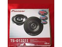 Pioneer car speaker pair, TS-G1321I, 200w max.