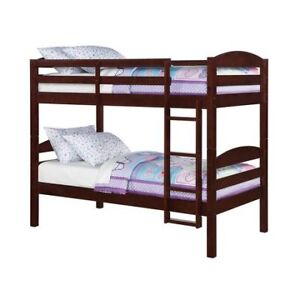 FS: Mainstays Twin/ Twin Wood Bunk Bed