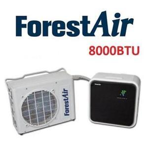 NEW FORESTAIR 8000BTU MINI SPLIT AC F001-MP8K 180917542 AIR CONDITIONER QUIET REMOTE COOLING SUNRISE TRADEX
