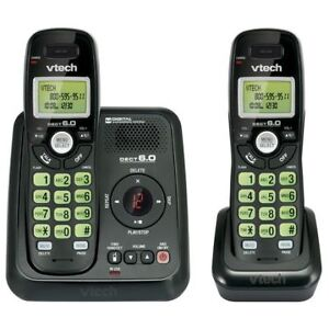 Never used, missing the manual Vtech Two Handset Cordless Answer