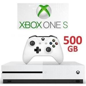 RFB XBOX ONE S 500GB CONSOLE 1681 222212658 MICROSOFT VIDEO GAME SYSTEM REFURBISHED