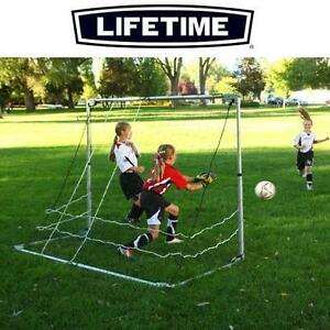NEW LIFETIME ADJUSTABLE SOCCER GOAL PORTABLE - 3 ADJUSTABLE SIZES (4' x 3') (6' x 4') (7' x 5') - SOCCER NET 109008269
