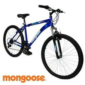 "NEW* MONGOOSE 24"" FRONTIER BIKE - 111556235 - MOUNTAIN MEN'S BOY'S 21 SPEED SUSPENSION BICYCLE"
