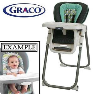 NEW GRACO TABLEFIT HIGH CHAIR - 117432046 - BOTANY COLLECTION BROWN GREEN HIGHCHAIRS CHAIRS NURSING FEEDING SEATS NUR...