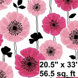 Brand new in pack, Floral Accent Wall paper Imported from USA