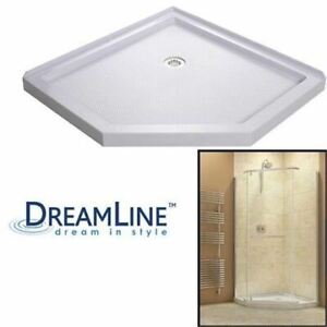 BRAND NEW DreamLine SlimLine Threshold Neo Shower Base in White