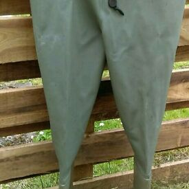Chest waders, size 11, used once.