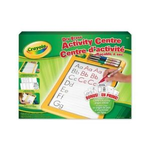 NEW!  Crayola Dry Erase Learning Centre