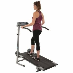 Exerpeutic 100 XL High Capacity Magnetic Manual Treadmill new