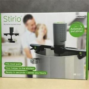 NEW Pot Stirrer Stirio Automatic Rechargeable for Kitchen - Unikia