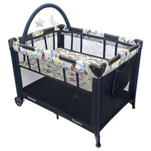 Playpen (almost brand new) - Harmony Play and Go Deluxe