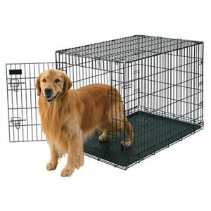 """Petmate Doskocil 42"""" Extra Large Wire Crate Dog Kennel"""