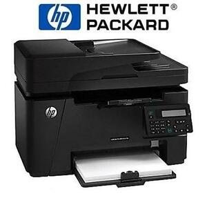 NEW HP LASERJET PRO MONOCHROME PRINTER ALL-IN-ONE - ETHERNET Scanners Fax Computers Tablets