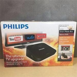 Philips Smart Media Box HD Media Player Internet Streamer w/ Wifi Like New