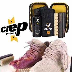 NEW 4PC CREP CURE SHOE CLEANING KIT 3.5OZ SOLUTION W/ TRAVEL CASE SHOE ACCESSORIES SHOE CARE FOOTWEAR CLEANER  82019824