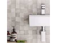 Oceania Stone Grey Mosaic Wall Tiles