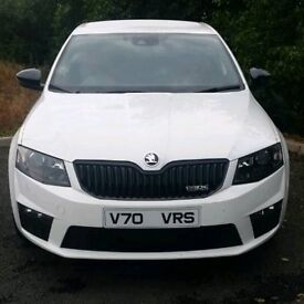 Skoda VRS or Volvo V70 Registration Number Plate