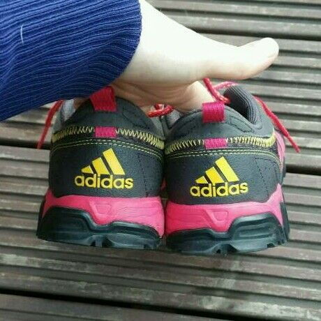 Adidas running trainers. Size 5in Camberley, SurreyGumtree - Adidas running trainers. Size 5. Trying to reduce my shoe collection. Cash on collection. Offers considered