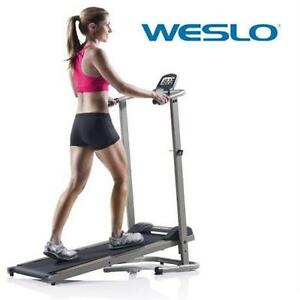 NEW* WESLO CARDIOSTRIDE TREADMILL EXERCISE EQUIPMENT FITNESS WALKING FIT CARDIO ACTIVE SPORT 80487994