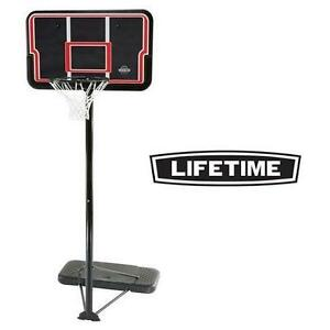 "NEW* LIFETIME 44"" BASKETBALL SET IMPACT - PORTABLE SYSTEM - BASKETBALL NET 101541014"