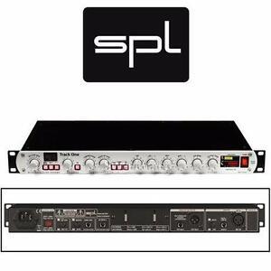 NEW SPL TRACK ONE CHANNEL STRIP Channel Strip with Mic/Instrument Preamp, De-Esser, Compressor/Limiter  97480714