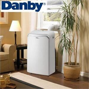 USED* DANBY AIR CONDITIONER PORTABLE - 4-IN-1 - AC - 14000BTU - 14000 BTU heating cooling air qaulity temperature