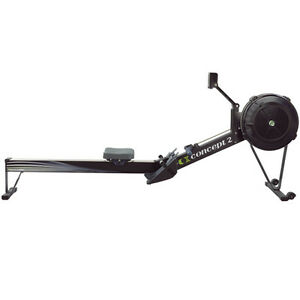Black CONCEPT II Model D with PM5 Rower CONCEPT 2