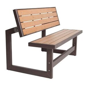NEW Convertible Picnic Table Bench Lawn Furniture Seating