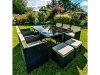 Luxury Garden Rattan Furniture set.