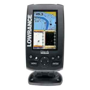 Lowrance elite 4 chirp and BRAND NEW transducer