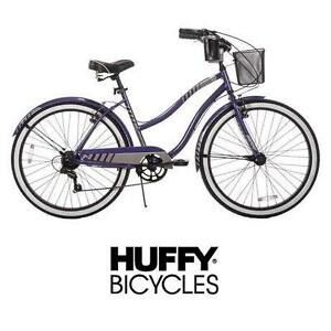 "NEW* HUFFY WOMEN'S NEWPORT CRUISER BIKE - BICYCLE - 26"" - PURPLE - CRUISER 103186432"