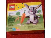 BNIB HTF retired lego set 40086 rabbit