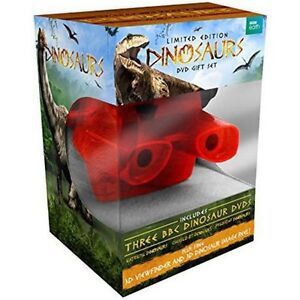 BNIB toy - Dinosaurs DVD gift set with 3D view finder