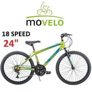 NEW MOVELO 24 BOYS MOUNTAIN BIKE 54508C 250872877 ALGONQUIN BICYCLE 18 SPEED