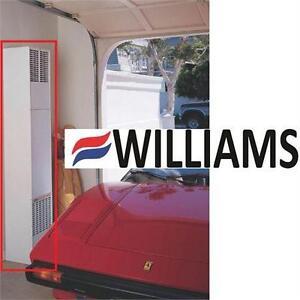 NEW WILLIAMS WALL FURNACE 40000 BTU   NG NATURAL GAS DIRECT VENT COUNTERFLOW  84448498