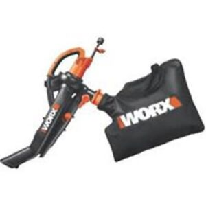 Worx Blower 3in1 Vac-Mulch with bag