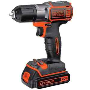 Screw driver perceuse Black and decker brand new