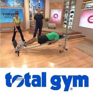NEW TOTAL GYM SUPREME SUPREME 135282089 TOTAL GYM SUPREME WITH SIX ATTACHMENTS  FOUR DVDS FITNESS EXERCISE EQUIPMENT
