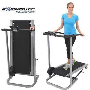 NEW EXERPEUTIC MANUAL TREADMILL EXERCISE FITNESS EQUIPMENT 76587877