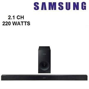 SAMSUNG HW-K430 220-WATT 2.1 CHANNEL FLAT SOUND BAR - STORE DISPLAY