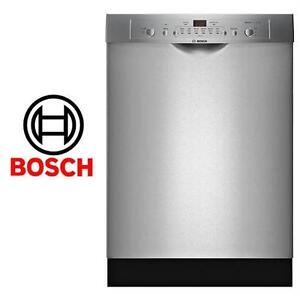 """NEW*BOSCH ASCENTA 24"""" SS DISHWASHER BOSCH STAINLESS STEEL TUB BUILT IN DISHWASHER KITCHEN APPLIANCE APPLIANCE 80586467"""