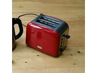 Red Breville 2 slice toasters