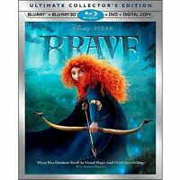 BRAND NEW FACTORY SEALED BRAVE 3D BLU RAY