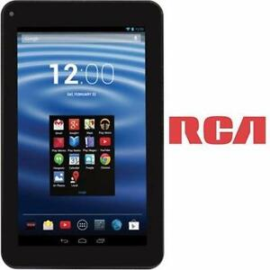 "REFURB* RCA 7"" ANDROID TABLET 8GB  BLACK - 7"" DISPLAY - ELECTRONICS  82335368"