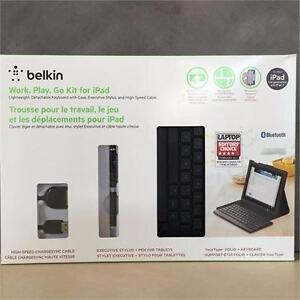Belkin Your Type Folio Detachable Keyboard Bluetooth for iPad 3rd gen and iPad 2